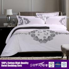 2017 Amazon hot sale Cotton Duvet Cover Set/hotel Bedspreads/5 Star Hotel Supplier
