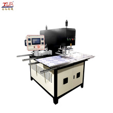 Mesin Pemanas Embossing Fabrik Workstation Double