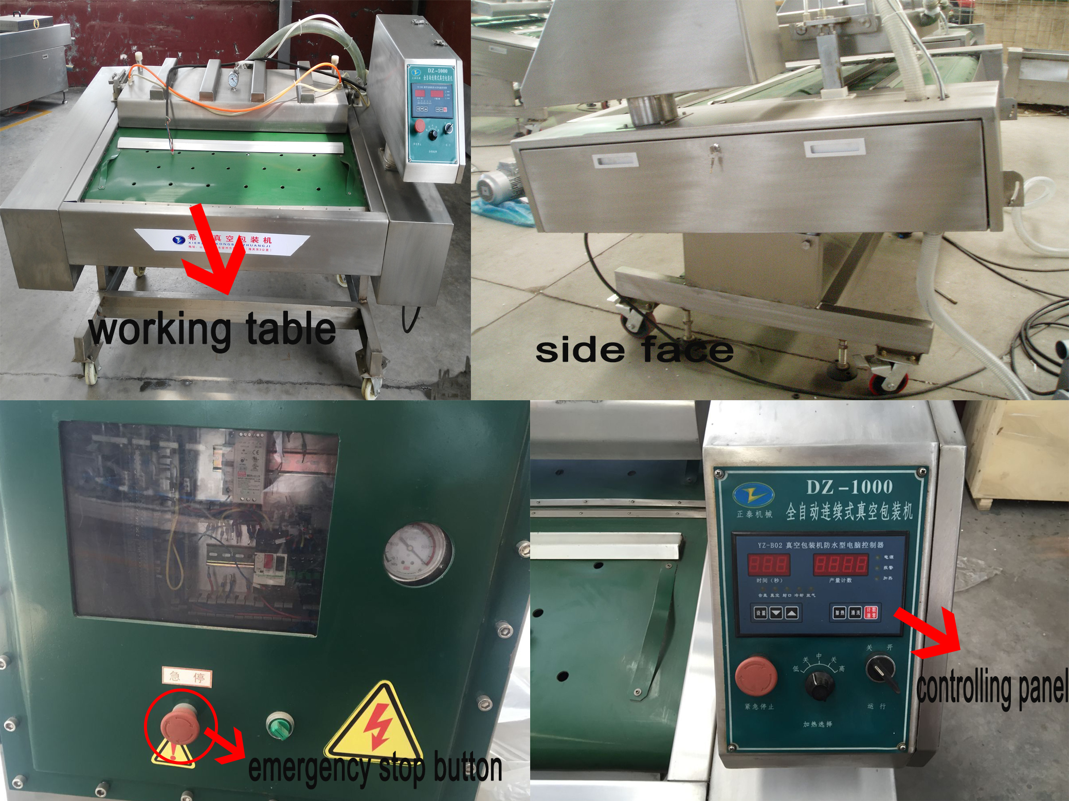 Cereal Continuous-type Vacuum Packing Machine