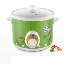 Electric stew pot LIDL amazon 1.5L round design slow cooker with ceramic pot purple clay slow cooker electric slow cooker
