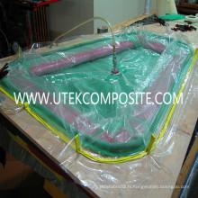 Film d'empilage sous vide 65um pour la formation de matériau composite