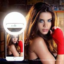 led garland Selfie Ring Mobile Phone Clip Live, selfie Lens Light Lamp night light Photo Camera Smartphone Beauty Emergency