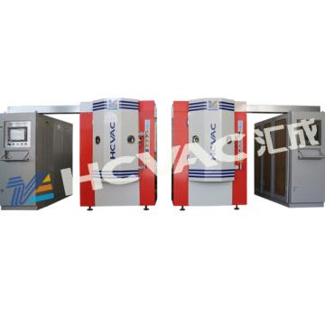 Gold Bathroom Wall Tiles Titanium Vacuum Coating Machine, Ceramic Wall Tiles PVD Coating Machine