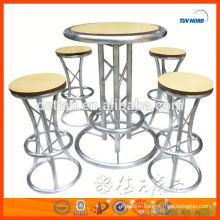 chaises de bar modernes et légères personnalisées chaise de bar en métal tabouret de bar confortable