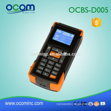 OCBS-D005: Mini 433mhz Wireless Barcode Scanner with screen and memory