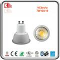 ETL 7W 630lm regulable COB GU10 LED