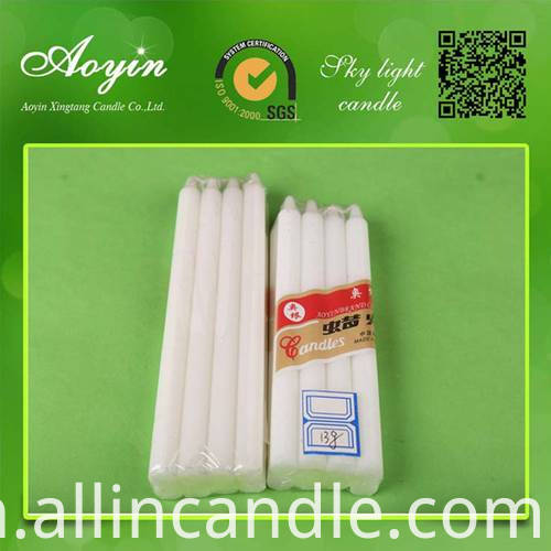 WHITE stick CANDLE028