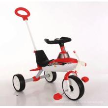 Triciclo para crianças ao ar livre infantil infantil carrinho com guarda-chuvas