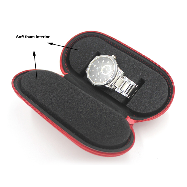 EVA watch case with foam