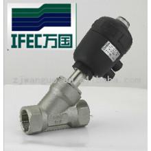 Vanne de siège à angle pneumatique (IFEC-JZ100001)