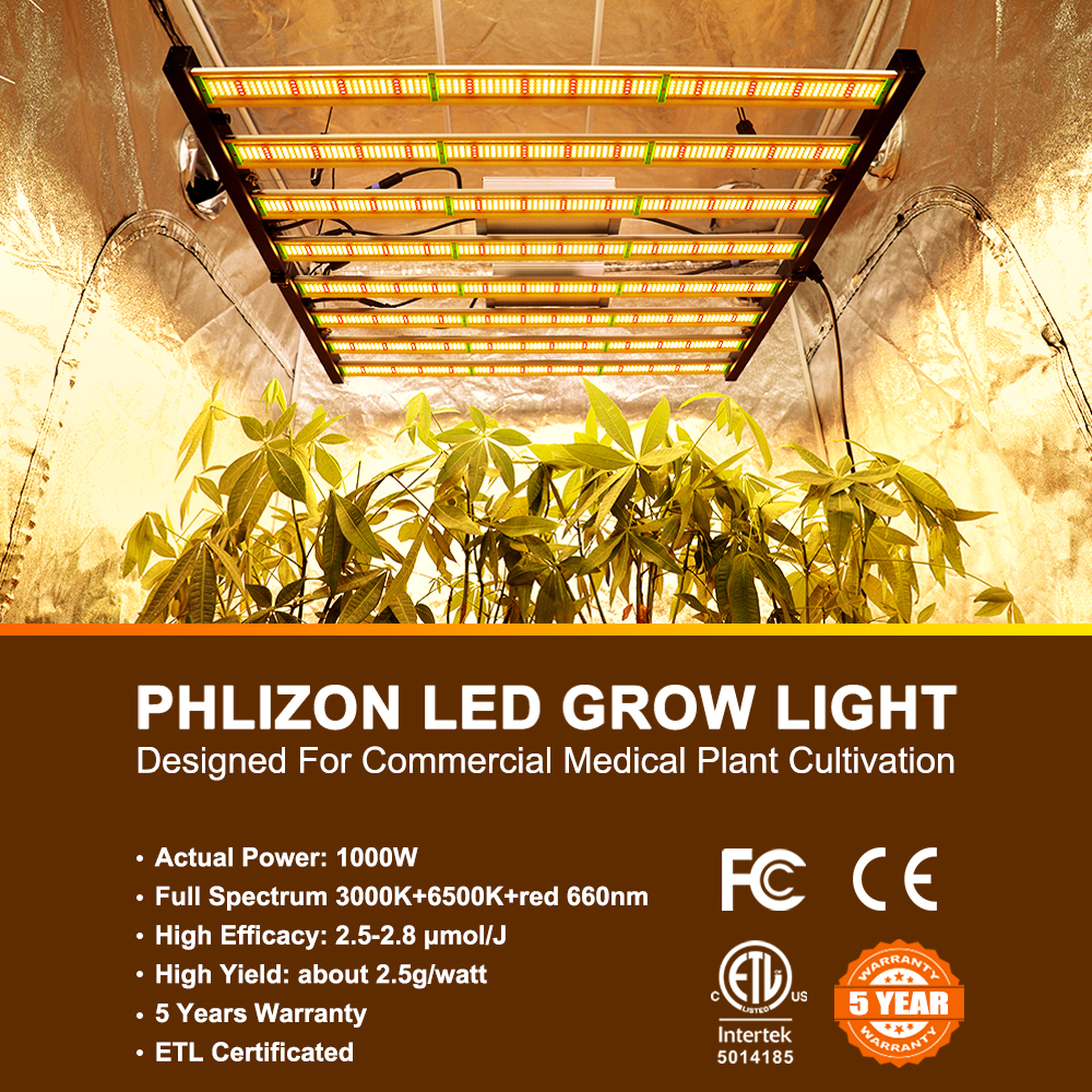 1000w Phlizon Grow Light