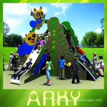 The children's outdoor panda heroes amusement equipment