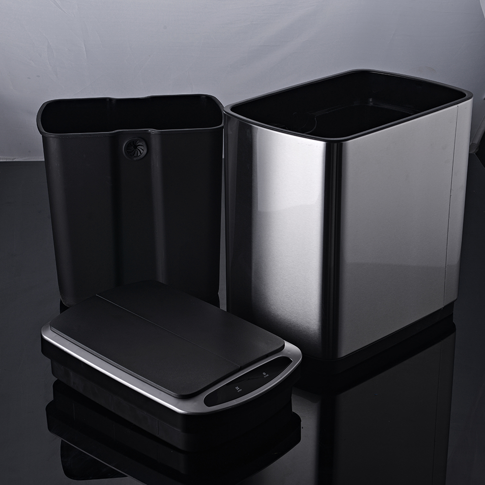 20L butterfly sensor dustbin compost can