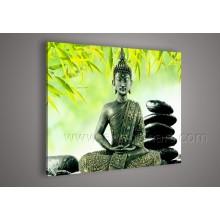 Handgemachtes Buddha-Kunst-Ölgemälde für Wand-Dekoration