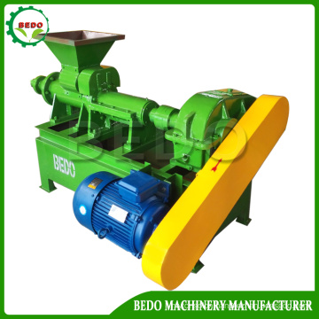 Coconut Shell Charcoal Briquette Making Machine in Hexagonal