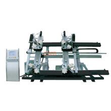 Hydraulic press aluminum corner crimping machine