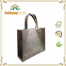 Metallic Non Woven Shopping Bags