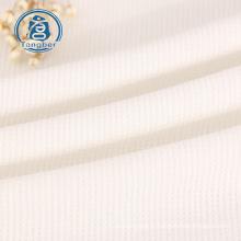 Tricô 65% poliéster 35% algodão tecido waffle