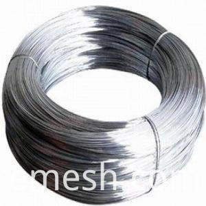 high quality MS hot dipped galvanized galfan steel wire 20 g