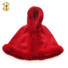 Neue Art-Großverkauf-Eleganz-rote reale Fox-Pelz scherzt Schal-Pelz-Kap