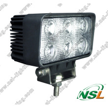 18W LED Truck Work Light 12V 24V Tractor off-Road Working Light