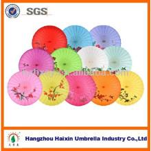 Manche en bois faits à la main chinoise huile papier parapluie