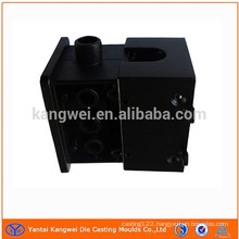 black coating aluminum part