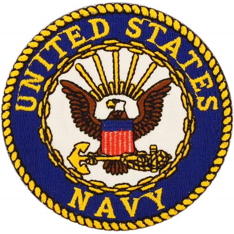 United States Navy Patch Embroidered