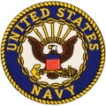 United States Navy Patch bestickt