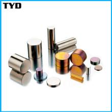 Aimant de cylindre solide permanent Aimant de néodyme standard Aimant N35