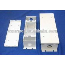 Carcaça de poder eletrônica de precisão de perfuração do CNC