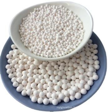Élimination du fluorure d'oxyde d'alumine activé utilisé