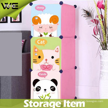 Multifunctional Storage Case Cartoon Display Plastic Home Kids Storage Box