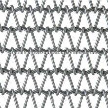 Cinta transportadora de metal galvanizado con precio competitivo en tienda Anping fábrica