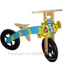 Fertigen Sie hölzernes gehendes Balance-Fahrrad für Kinder besonders an