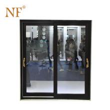 Aluminum tempered glass sauna sliding door