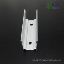 Clip fixe en aluminium pour l'installation de LED Neon Flex