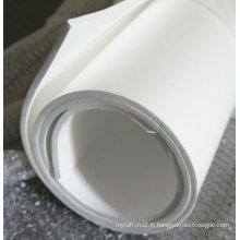 Feuille en PTFE élargie pour matériau d'étanchéité