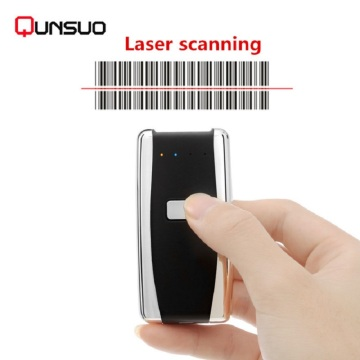 Mini scanner di codici a barre Bluetooth esterno 1D laser