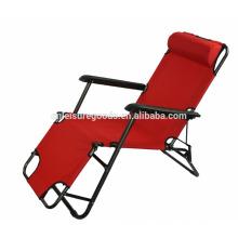 Chaise longue pliante doubleduty Chaise extérieure