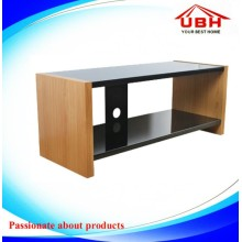 Table de télévision / écran TV LED en bois sculpté