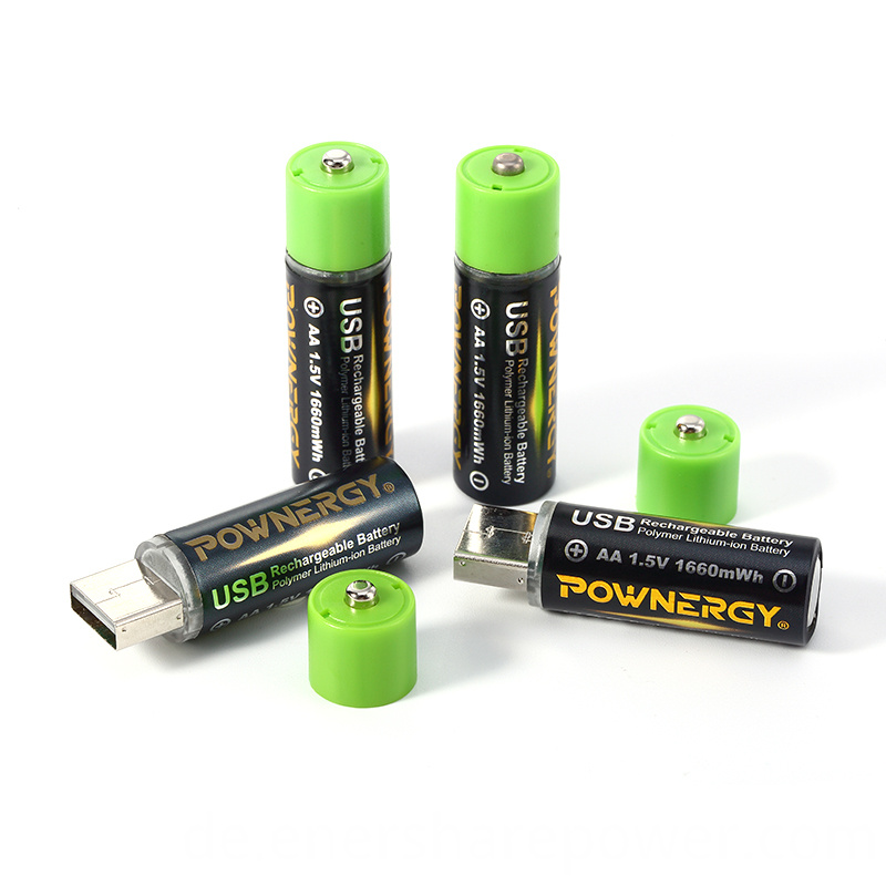 rechargeable aa batteries with usb
