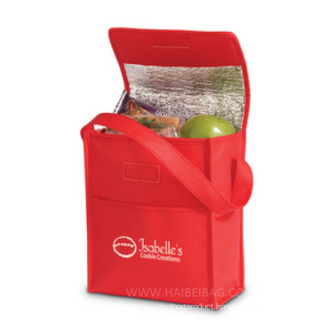 Customized Non Woven Picnic Lunch Cooler Bag for Food, Drink, Beer Can, Ice Cooling, Shopping Box, Promotion (HBCOO-37)