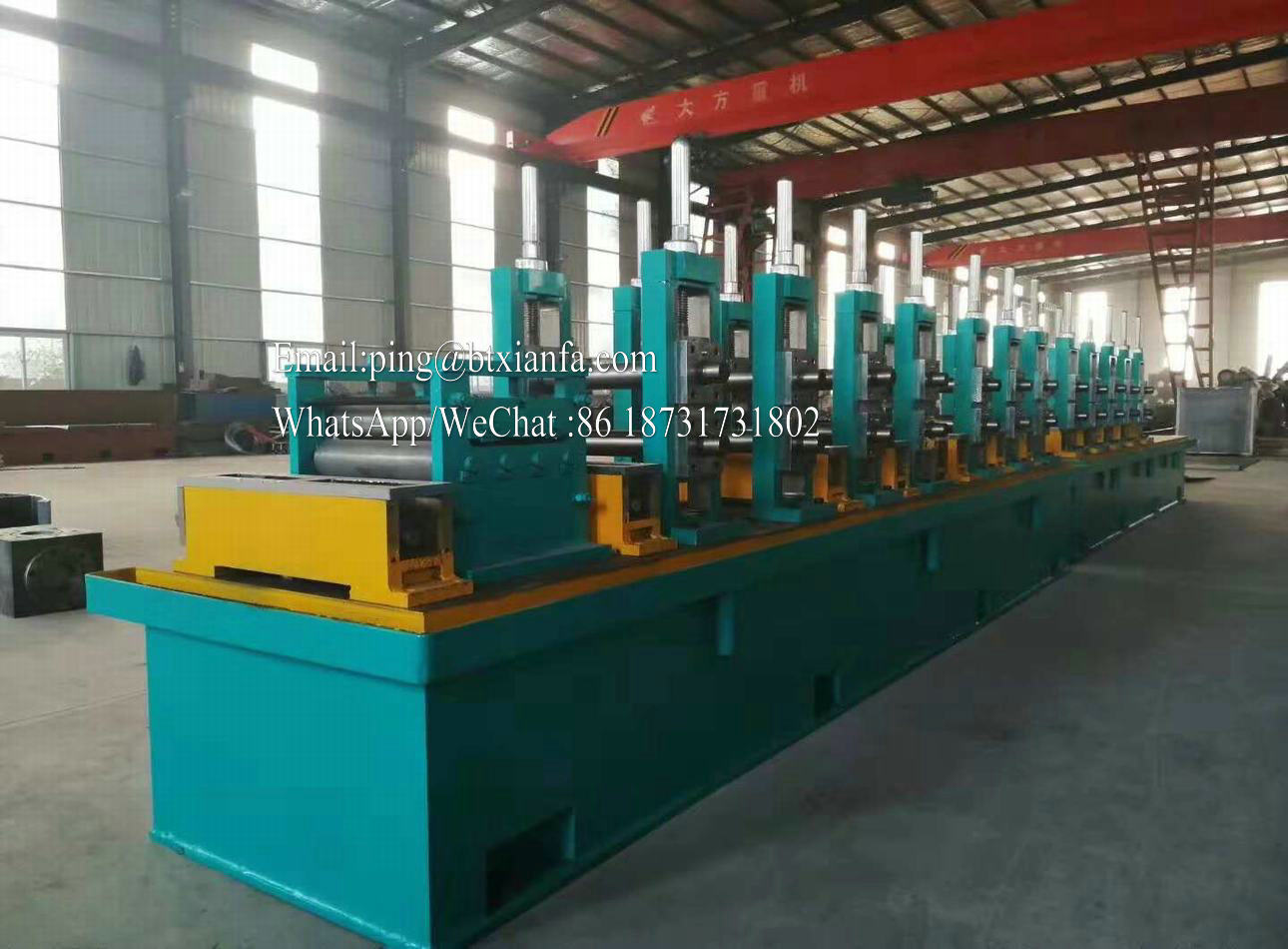 High Frequency Tube Forming Machine