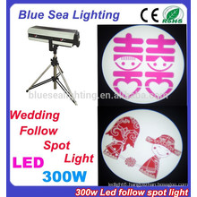 2015 new arrival 300W led follow spot wedding light