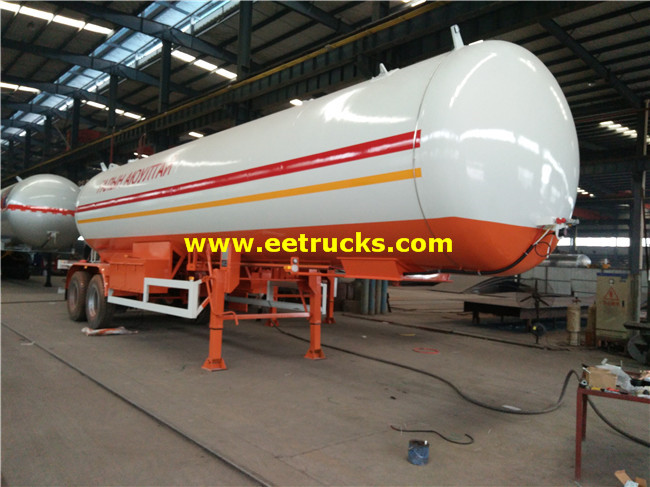 20ton LPG Transportaion Trailers