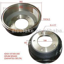 4243187305000 pour tambour de frein DAIHATSU