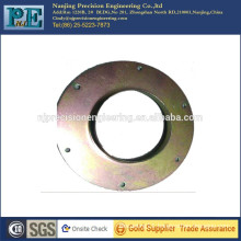 Custom steel stamping flat washer with mounting holes