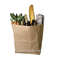 cheap kraft paper bag without handle