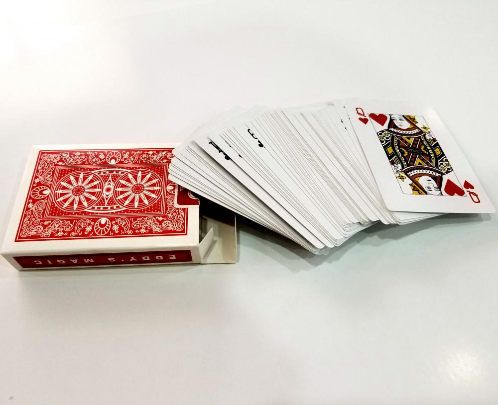 Bronzing Embossed Playing Cards